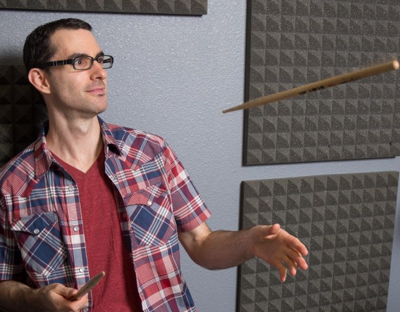 David O and floating drum stick